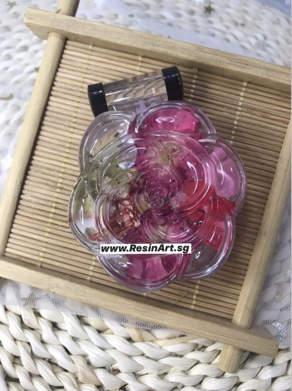 DIY Rose Mirror Compact Container Resin Kit